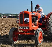 Nuffield tractor at the Great Dorset Steam Fair by Rob Hawkins