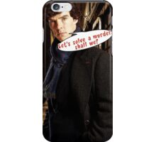 Comic Sherlock iPhone Case/Skin
