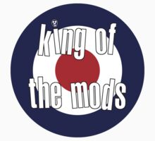 The Mighty Boosh – King of the Mods by PonchTheOwl