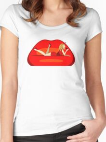 Kylie - Kiss Me Once Women's Fitted Scoop T-Shirt