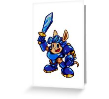 Rocket Knight  Greeting Card