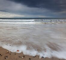findhorn beach by codaimages