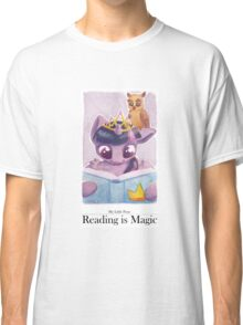Reading is Magic: Twilight Sparkle Classic T-Shirt
