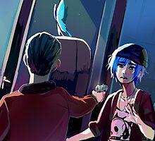 Life is Strange- Chloe and Nathan by highjinkx