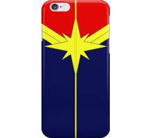 Captain Marvel - Minimalist iPhone Case/Skin