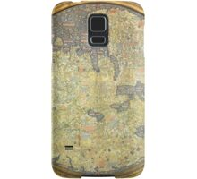 Antique Fra Mauro Map Asia Africa Europe Samsung Galaxy Case/Skin