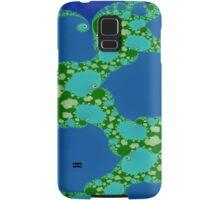 Fun in Blue and Green Samsung Galaxy Case/Skin