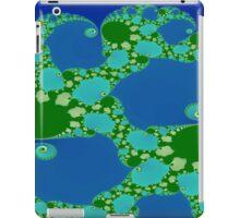 Fun in Blue and Green iPad Case/Skin