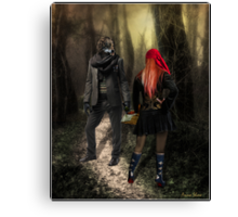 Little Red Riding Hood (2010) Canvas Print