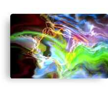 Electrical Interaction Canvas Print