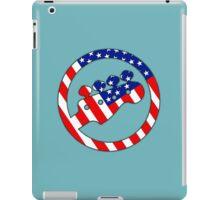 American Bass Guitar flag iPad Case/Skin