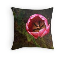 The Beauty Within Throw Pillow