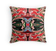 In The Abstract Jungle Throw Pillow