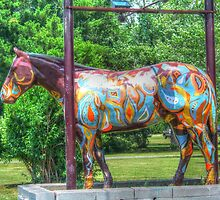 Horse Of A Different Color by James Brotherton
