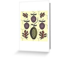 Strange Fruit Greeting Card