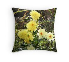 Colourful Competition Throw Pillow