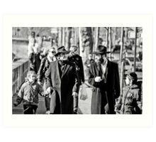 Generations in Paris Art Print