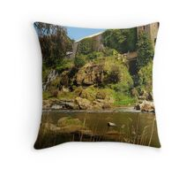 Buckley Falls Geelong. Throw Pillow