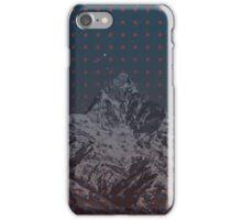 Fishtail Mountain Dots iPhone Case/Skin