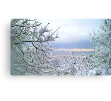 Awesome landscape  Canvas Print