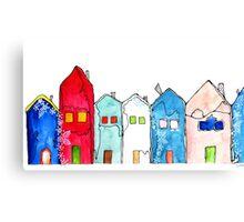 Houses1 Canvas Print