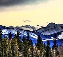 Flathead Mountain Range by Alyce Taylor