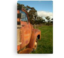 Bedford Truck, Brisbane Ranges Canvas Print