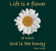 'Life Is A Flower...' by Scott Bricker