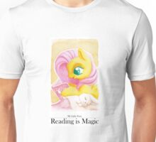 Reading is Magic: Fluttershy Unisex T-Shirt