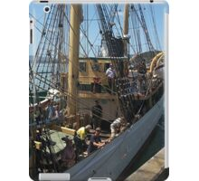 ' Picton Castle ' -  arriving at Opua.......! iPad Case/Skin
