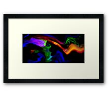 Spreading Gaseous Clouds Framed Print