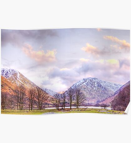 Late Afternoon by Brotherswater Poster
