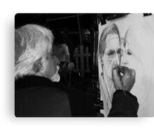 Sketching Canvas Print