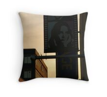 Back Alley,Movie Theatre Banners,Geelong Throw Pillow