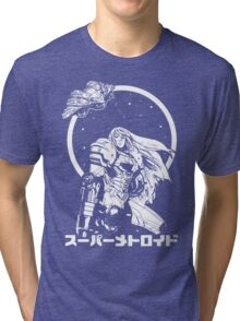 Interstellar Bounty Hunter Tri-blend T-Shirt
