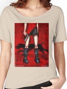 Red Dress & Zombie Dog Women's Relaxed Fit T-Shirt