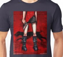 Red Dress & Zombie Dog Unisex T-Shirt