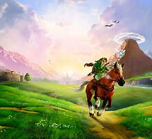 The legend of Zelda - Link, let's go! by ghoststorm