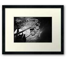 Big Wheel Framed Print