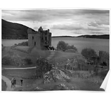 Urquhart Castle 4 Poster