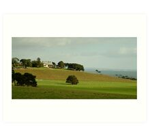 Spray Farm,Bellarine Peninsula Art Print
