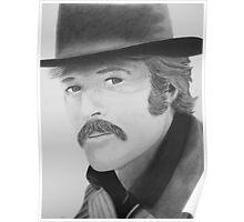 The Sundance Kid- Robert Redford Poster