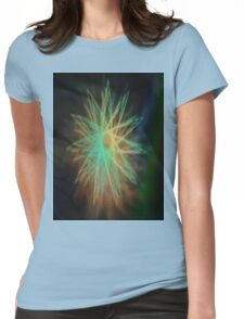 Electrical Star Womens Fitted T-Shirt