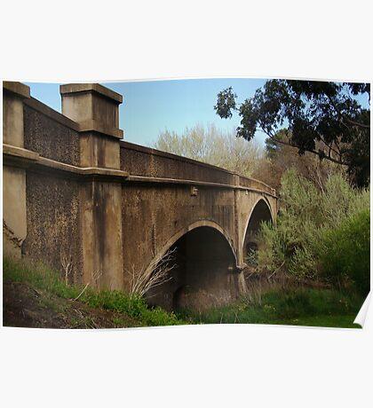 Fyansford Bridge,Geelong Poster