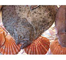 Flounder: Paris, France Photographic Print