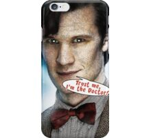 Comic Doctor Who iPhone Case/Skin