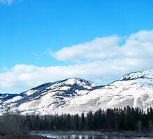 Winter View of the Northfork by rocamiadesign