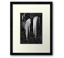 Freezing cold Framed Print