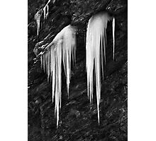 Freezing cold Photographic Print