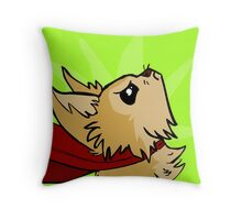 Defiant Mighty Jack Throw Pillow